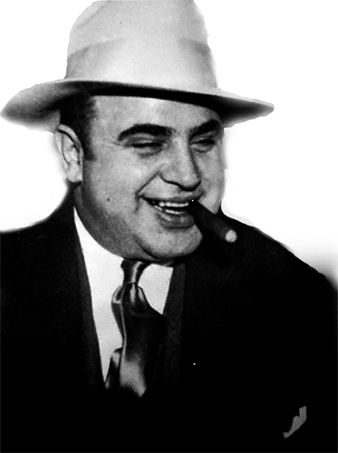 alphonse gabriel capone summary Alphonse gabriel al capone was an american gangster who led a prohibition-era crime syndicate the chicago outfit, which subsequently also became known as the capones, was dedicated to smuggling and bootlegging liquor, and other illegal activities, such as prostitution, in chicago from the early 1920s to 1931.